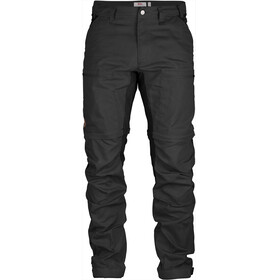 Fjällräven Abisko Lite Trekking Zip-Off Trousers Men Dark Grey-Black